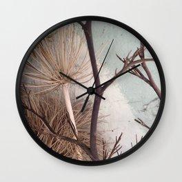 Agapanthus bouquet Wall Clock