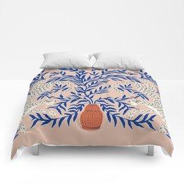 Leopard Vase Comforters