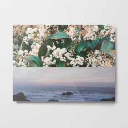 LES FLEURS III x OUR SUNSETS Metal Print