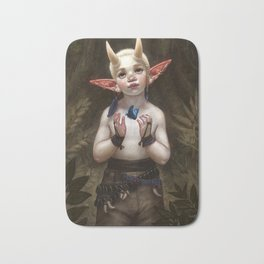 Child of the Forest Bath Mat