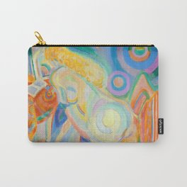 """Robert Delaunay """"Femme nue lisant (Nude Woman Reading)"""" Carry-All Pouch"""