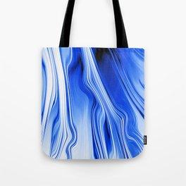 Streaming Blues Tote Bag