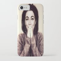 bjork iPhone & iPod Cases featuring Mommie Bjork by Wanker & Wanker
