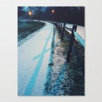 vienna Canvas Prints featuring Vienna by Olivia Lee