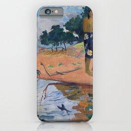 Haere Pape by Paul Gauguin iPhone Case