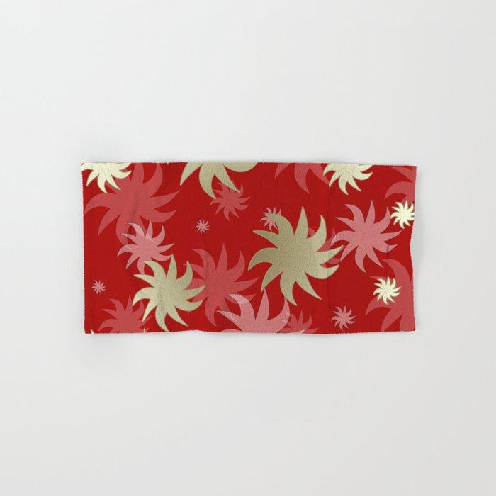 CHRISTMAS STARS 04 Hand & Bath Towel