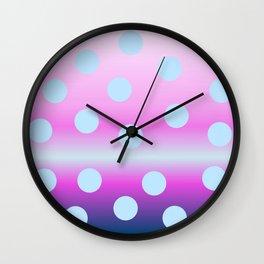 dots on top Wall Clock