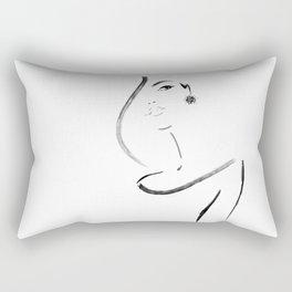 Portrait #1 Rectangular Pillow