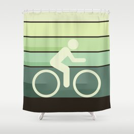 Let It Roll Shower Curtain