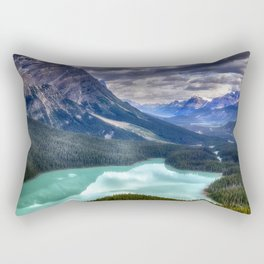 Peyto Lake - Banff National Park Rectangular Pillow