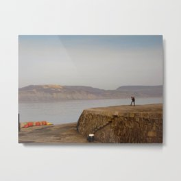 Alone but not Lonely Metal Print