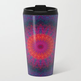 Lacy Mandala Metal Travel Mug