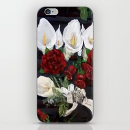Lillies ad Roses iPhone Skin