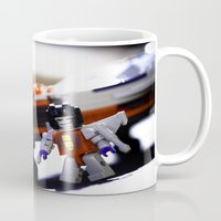 transformers Mugs featuring Kre-o Transformers by TJAguilar Photos