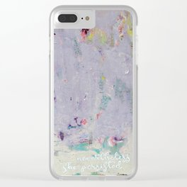 persistance Clear iPhone Case