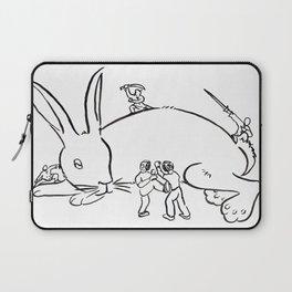 Kuo Shu Rabbit Laptop Sleeve