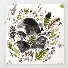 DARWIN FINCHES Canvas Print
