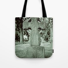 Simple Celtic headstone Tote Bag