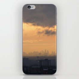 City Sky. iPhone Skin
