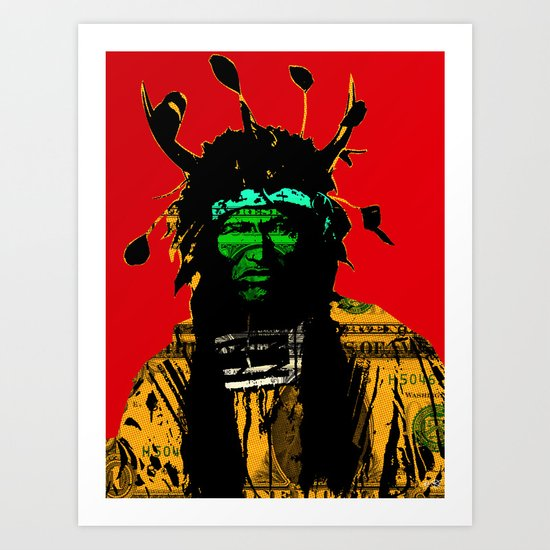 Indian Pop 20 Art Print