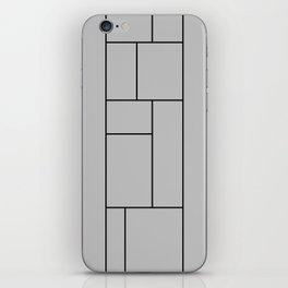 Squares Print iPhone Skin