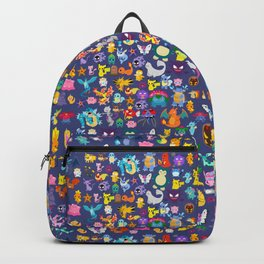poke collection 4 Backpack