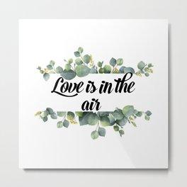 Love is the air Metal Print
