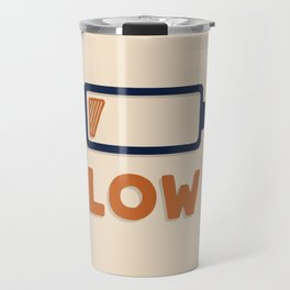 Low battery Travel Mug
