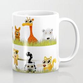 Adorable Zoo animals Coffee Mug