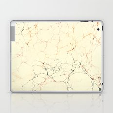Marbled Cream Laptop & iPad Skin