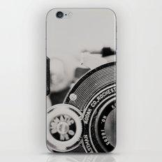 vintage kodak camera #1 iPhone Skin