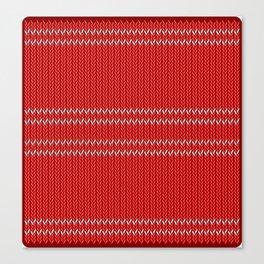 Chritmas Sweater Canvas Print