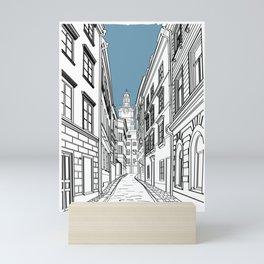 Stockholm Gamla Stan Mini Art Print