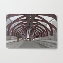 Peace Bridge Metal Print