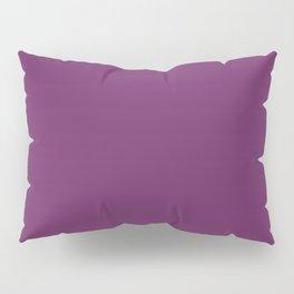 Palatinate Purple - solid color Pillow Sham