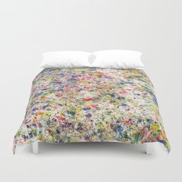 Abstract Artwork Colourful #7 Duvet Cover