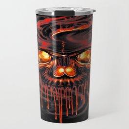 Bloody Red Skeletons Travel Mug