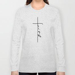 Faith Cross Long Sleeve T-shirt