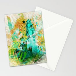 Vibrant Mission Dolores Church in the Mission district san Francisco Stationery Cards