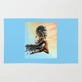 Season of the Legend - Icarus Descending Rug