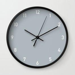 Clock numbers smoke Wall Clock