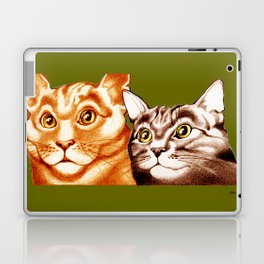 Cats : The Two of Us Laptop & iPad Skin