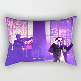 Waiting For The Night To Fall. Rectangular Pillow