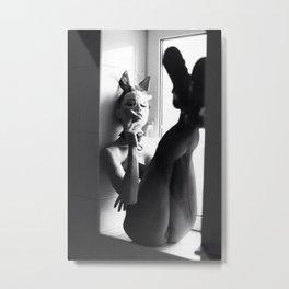 Helmut Newton Metal Print