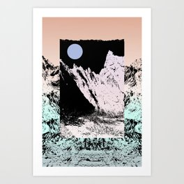 That circle which might be a moon Art Print