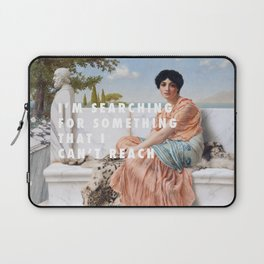 John William Godward, In the Days of Sappho (1904) / Halsey, Ghost (2014) Laptop Sleeve