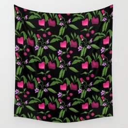 Vegetable garden Wall Tapestry