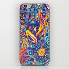Star Warp iPhone & iPod Skin