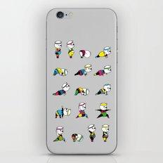 Yoga Bear - 80's Remix iPhone Skin