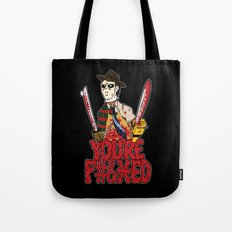Slasher Mash (NSFW) Tote Bag
